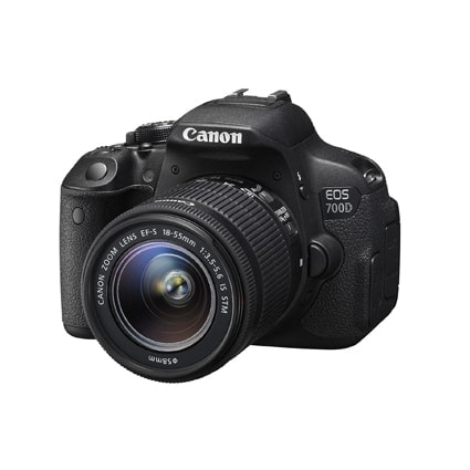 Canon EOS 700D Camera With 18-55mm Lens