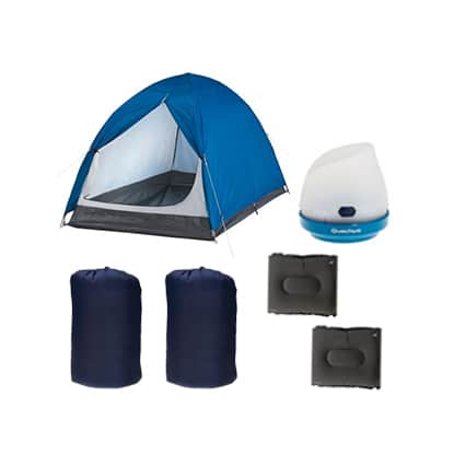 Essential Camping Kit for Two