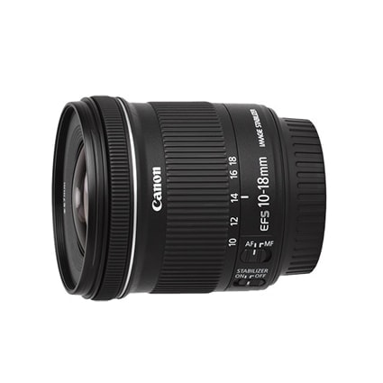Canon 10-18mm f4.5-5.6 IS STM Lens