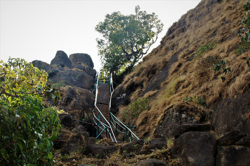 ladder way Kalsubai highest peak of Maharashtra