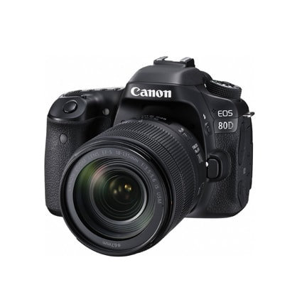 Canon 80D 24MP DSLR Camera with the Canon 18-135mm lens 1