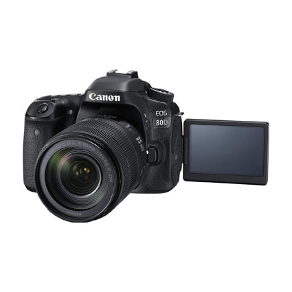 Canon 80D 24MP DSLR Camera with the Canon 18-135mm lens 4